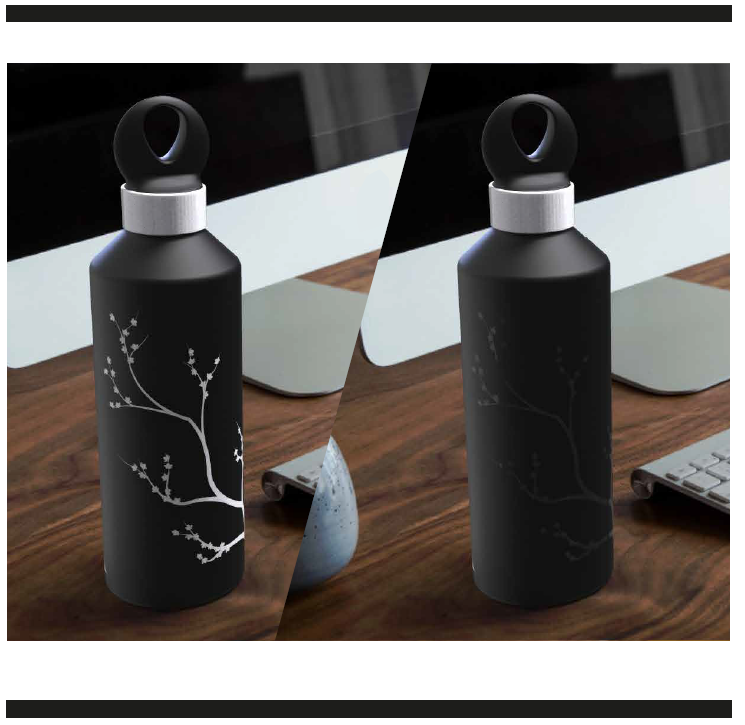 A Smart Bottle That Tracks Daily Water Intake